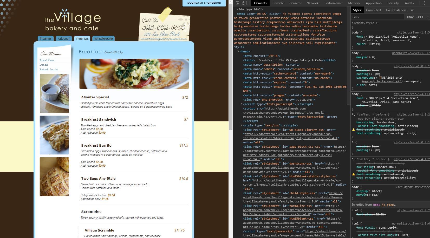 Converting Static HTML