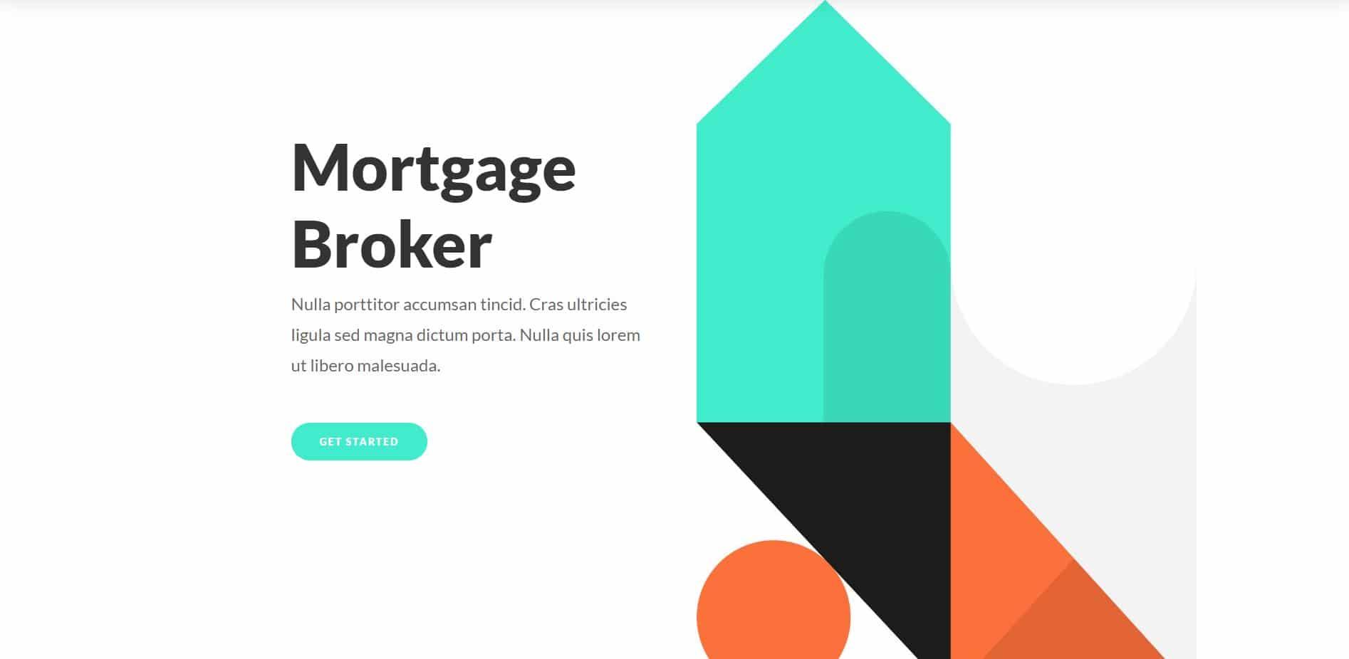 Mortgage Broker Website Design