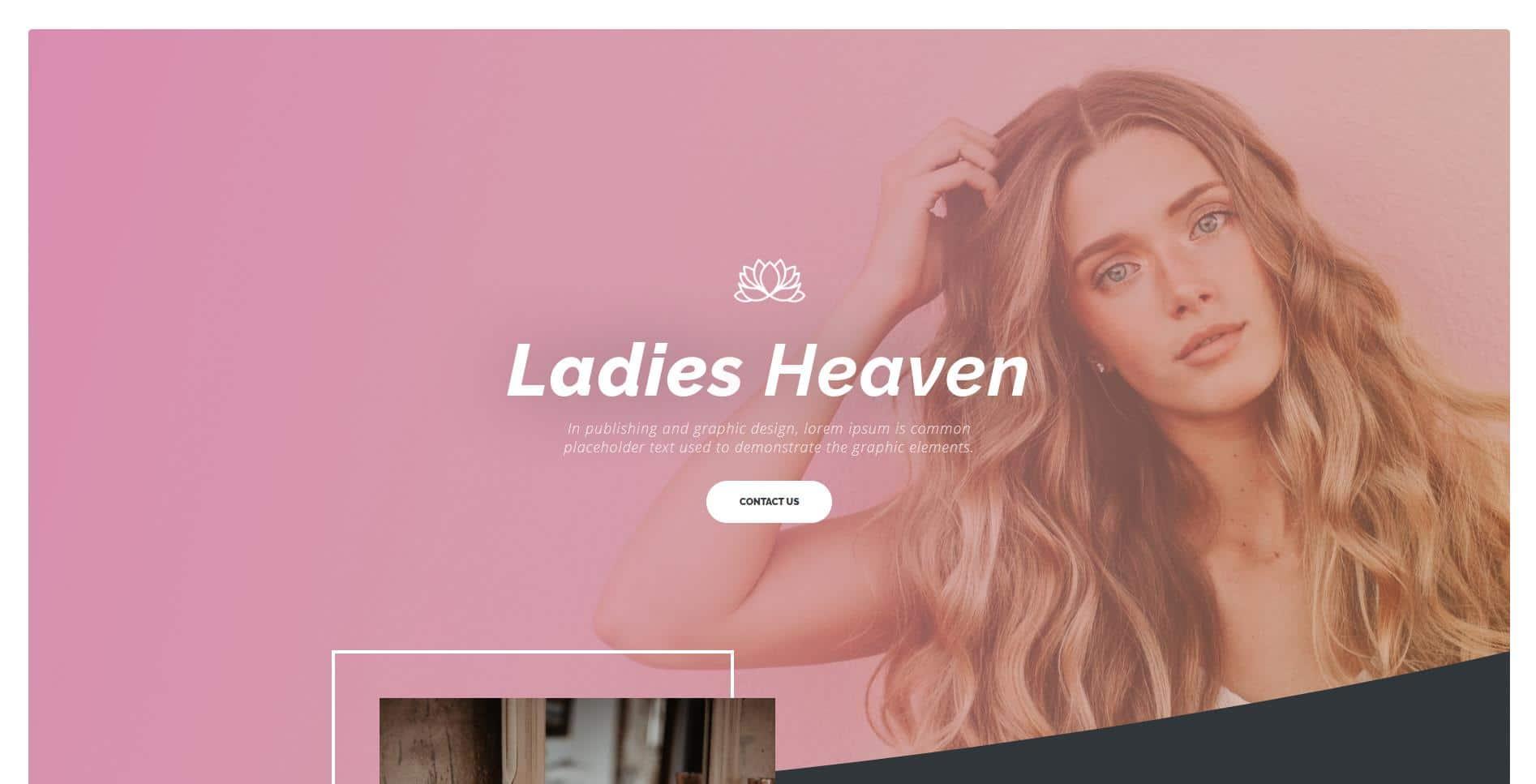 Beauty Salon Website Design