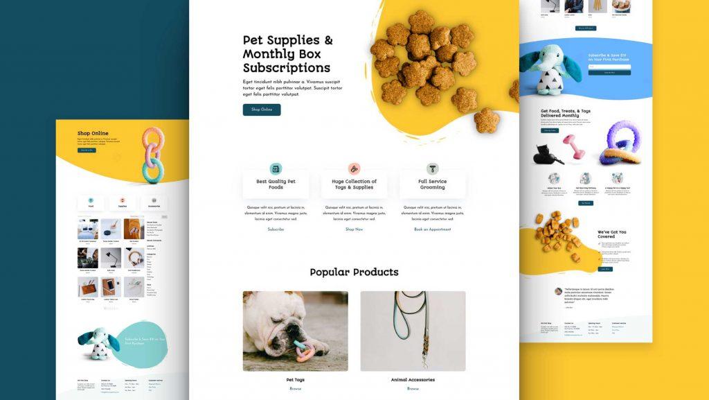 Website for Pet Company