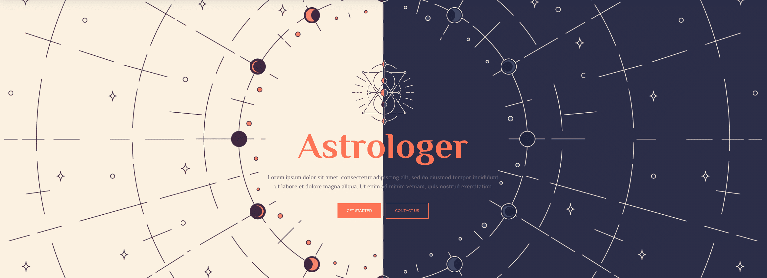 Astrologist Website design